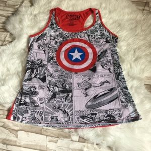 Other - Marvel captain America tank top size large 11/13